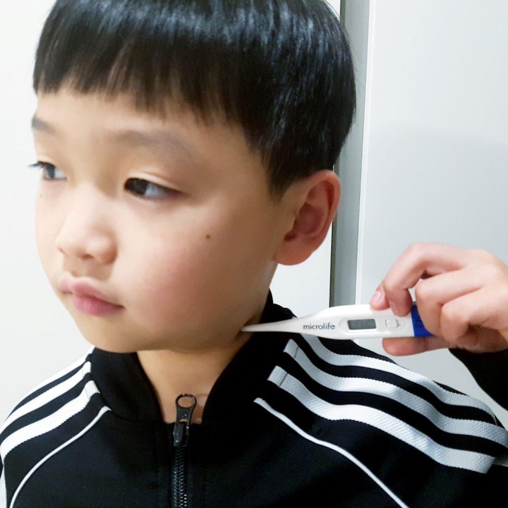아기체온계 겨드랑이 액와 약국 임산부 전자 체온기, 1개