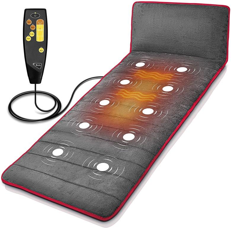온열 안마 매트 마사지 진동 침대 낮잠 경추 소형 미니 전신 미국 대란 상품 진동 (POP 5491845734)