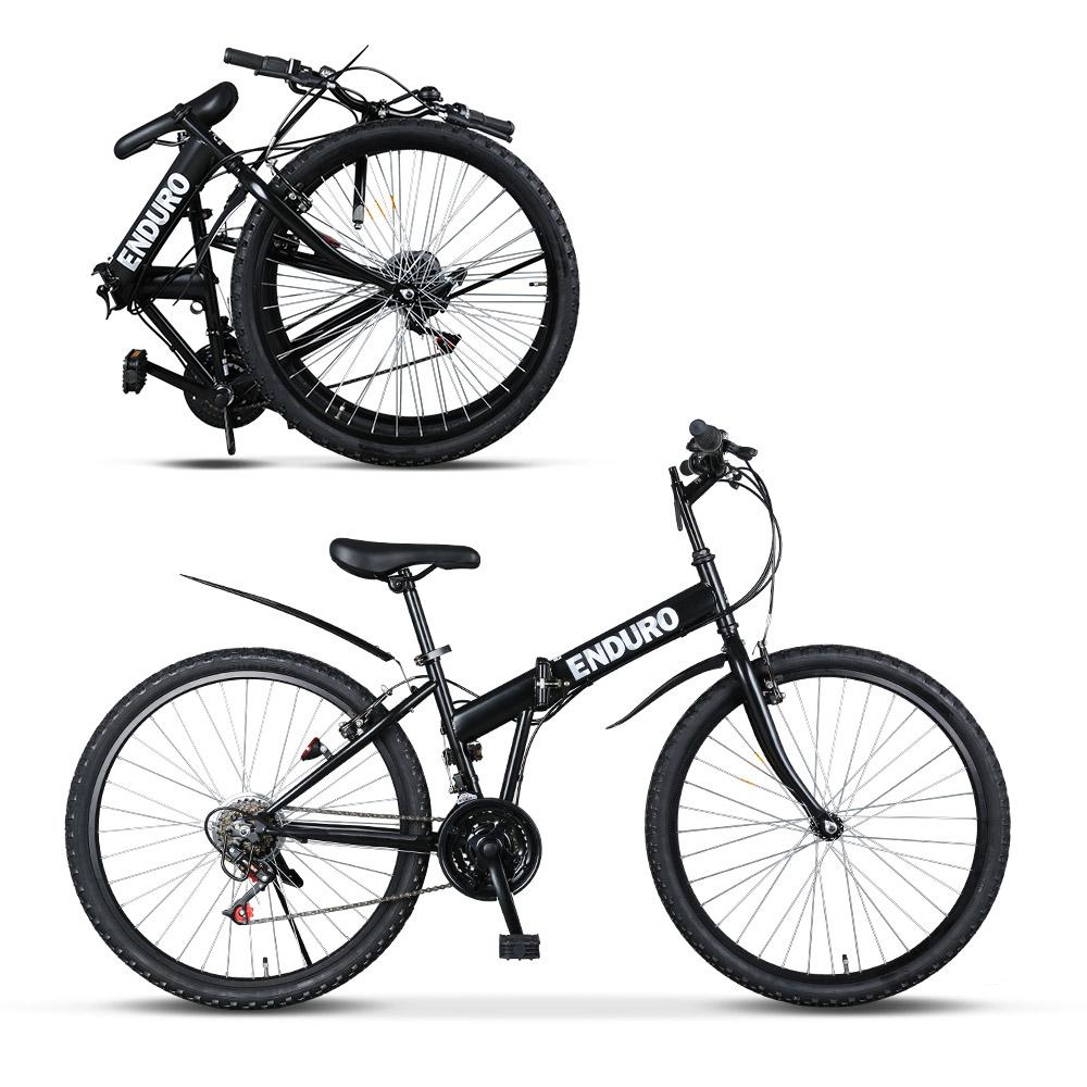 바이맥스 엔듀로 접이식자전거 21단 26인치 MTB형