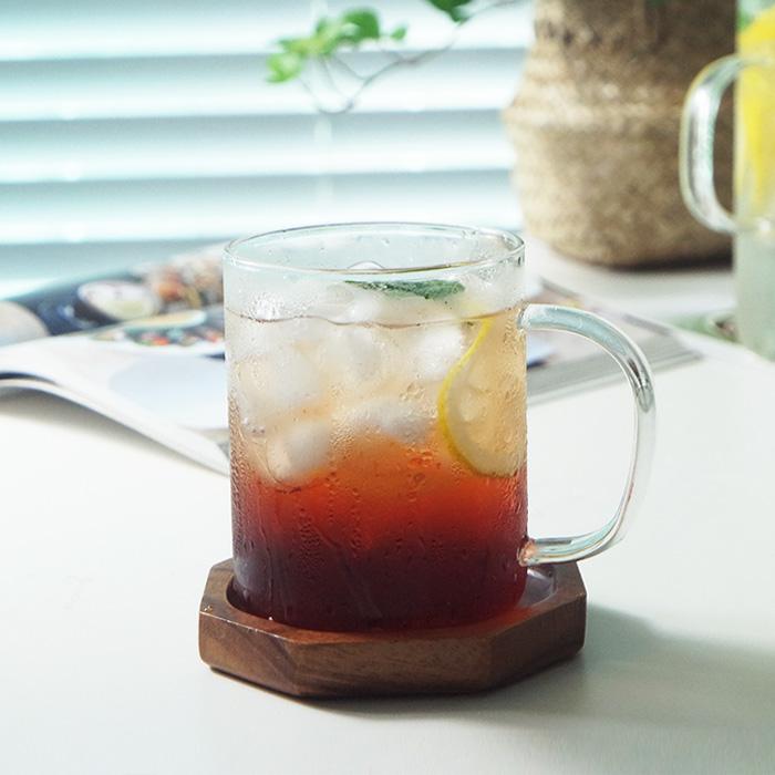 마이샵 MAKA 내열유리머그잔 네스프레소버츄오잔 음료잔, 04 내열머그430ml (M04)