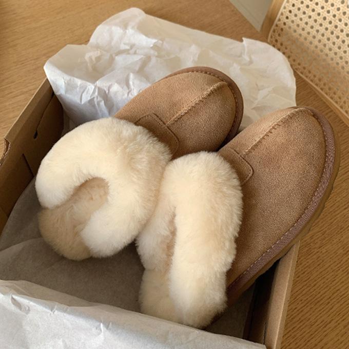 리얼양털 어그 슬리퍼 (shoes) *2color