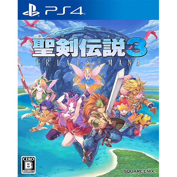 PS4 성검전설3 트라이얼즈 오브 마나 4/24 발매예정, 성검전설