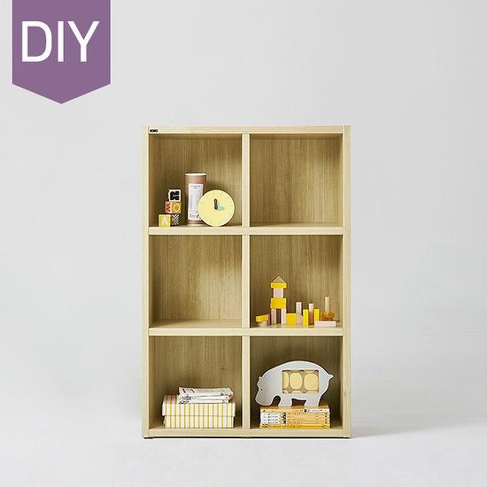 한샘 샘 어린이 책장 3단 80cm DIY(컬러 택1), 색상:크림화이트(A)