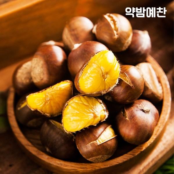 [K쇼핑]달콤한 영양간식 칼집 약단밤 1kg, 단일상품