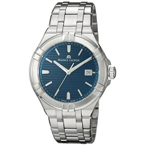 Maurice Lacroix Maurice Lacroix Mens Aikon Swiss Quartz Watch with Sta