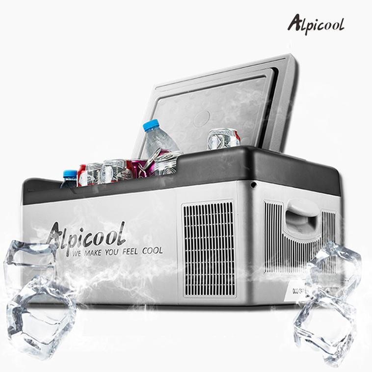 Alpicool 알피쿨 차량용 냉장고 DC.AC겸용 12.24V겸용, 25L(차량용)