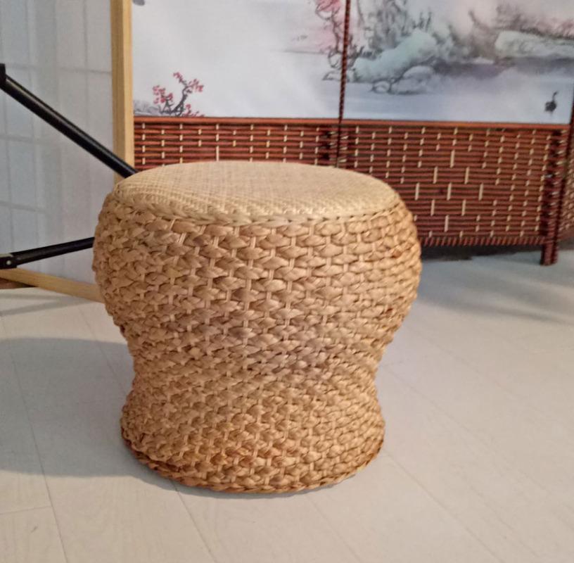 라탄의자 미니 원형라탄의자 라탄스툴 밀짚 등나무 인테리어의자, 선택6