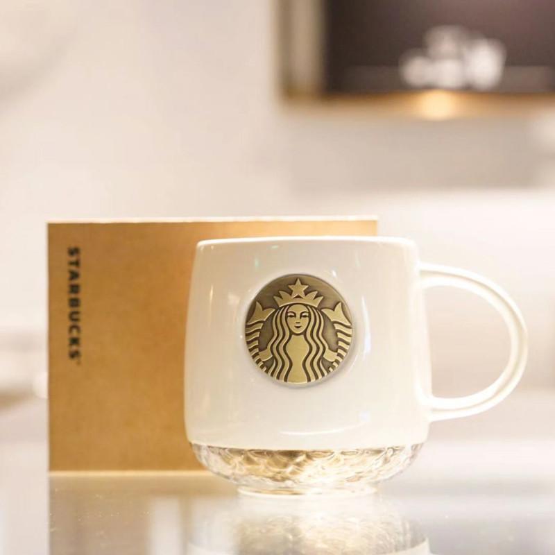 스타벅스 2020 머그컵 스벅 리저블 모던 머그잔 사무실 30대아내생일선물, 1개, 화이트