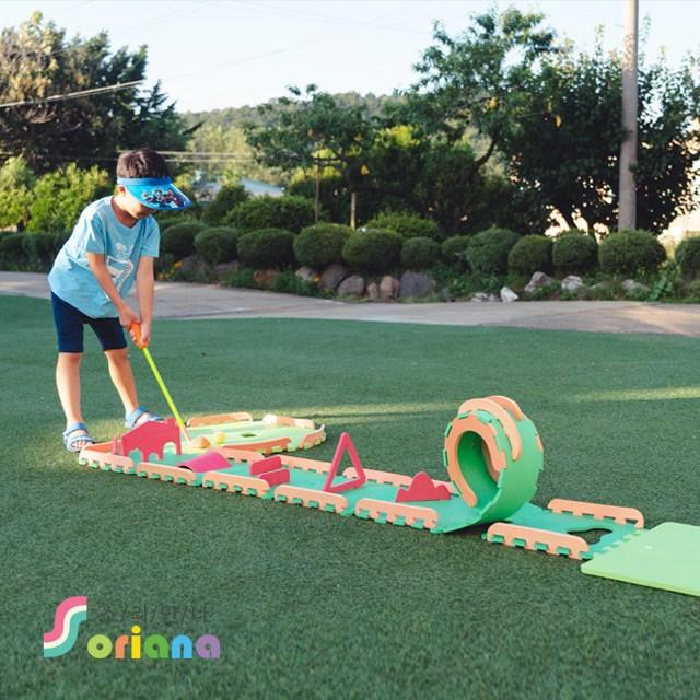 소리안나 EVA 어린이 골프놀이세트