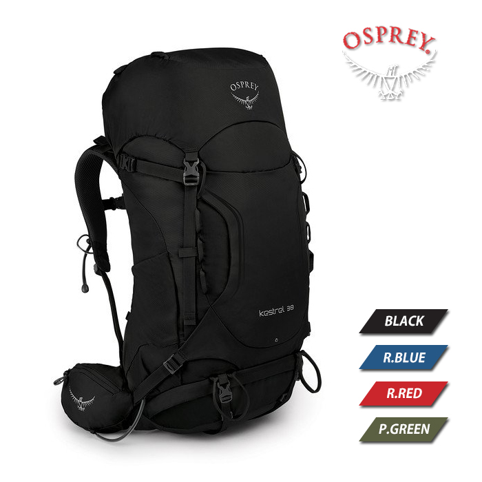 오스프리 케스트렐 38 (신형) 남성용 등산배낭, 블랙