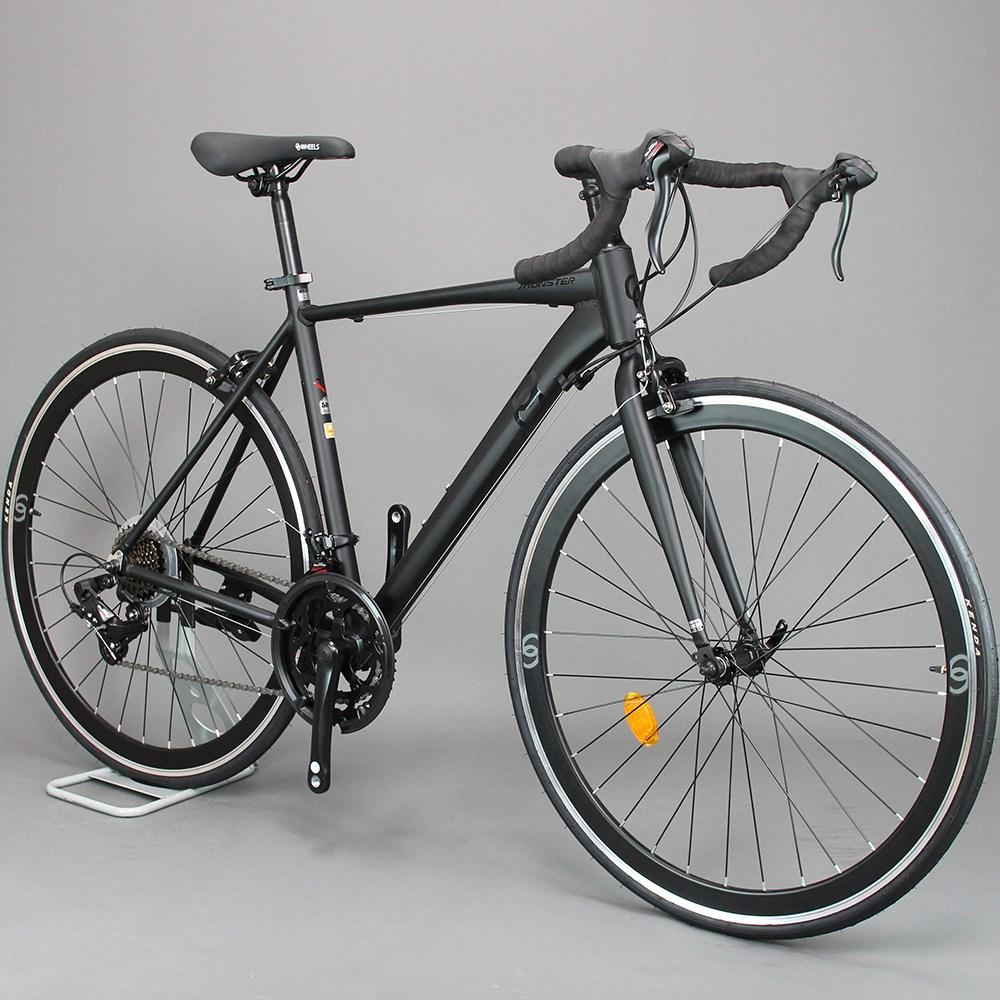 오투휠스 몬스터R2 입문용 사이클 자전거 700C 14단, 98%조립-택배배송, 화이트-430