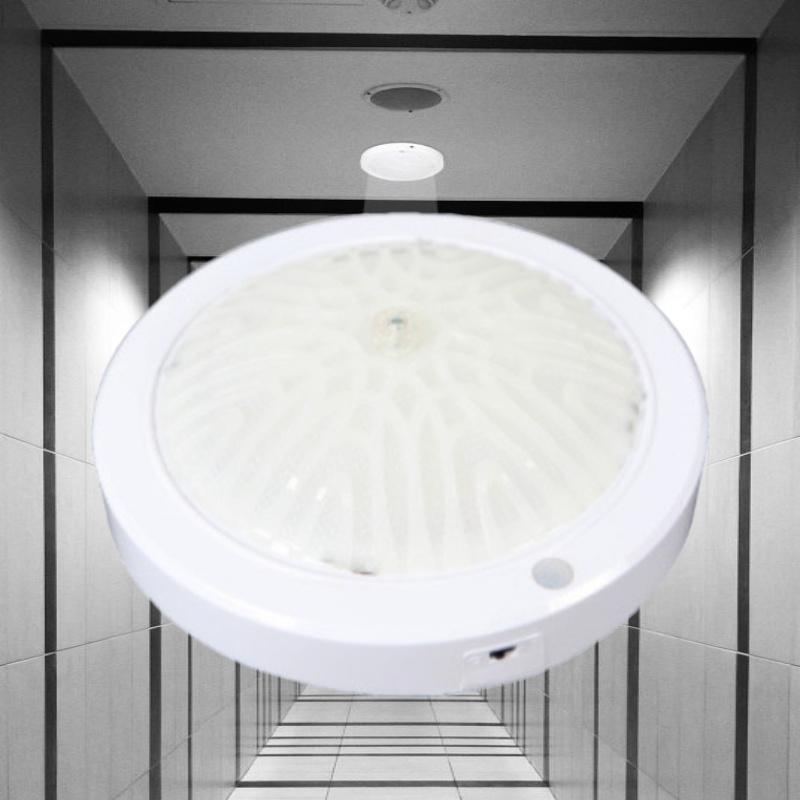 보스 LED 센서등 신발장 주차장 현관 베란다 계단 아파트 비상등 원형 15W
