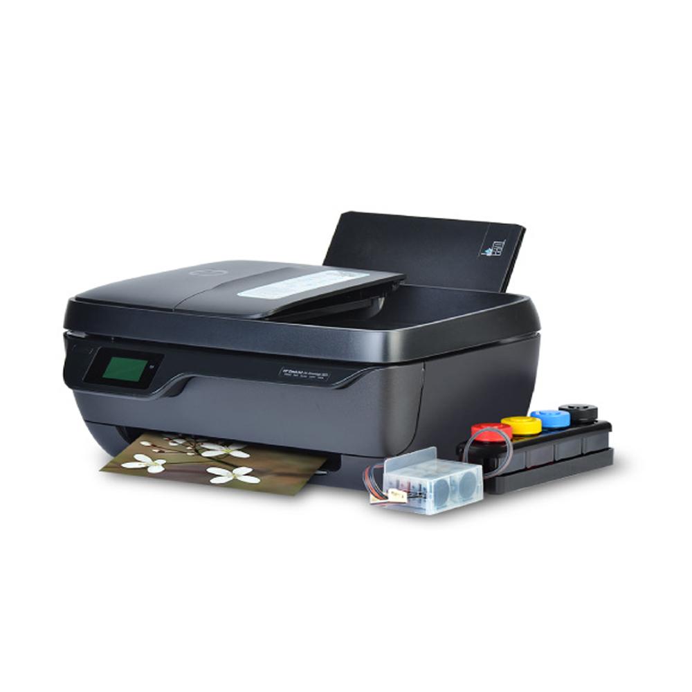 HP 3833 무한잉크복합기 잉크젯 프린터 팩스복합기, HP3833 무한잉크 팩스복합기 350ML 완제품
