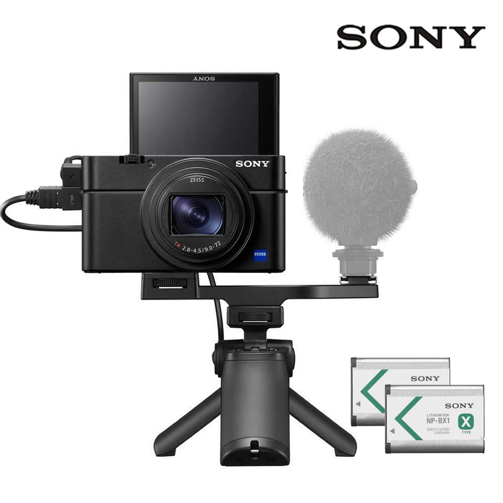 소니 DSC-RX100VII +VCT-SGR1 브이로그Kit (RX100M7)공식대리점 하이엔드카메라, DSC-RX100M7