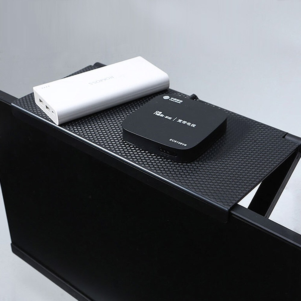 스텔라룸 TV 셋탑박스 거치대 셋톱박스 모니터 선반 정리, 단일