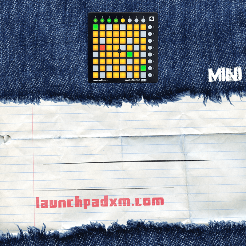 Novation 런치 패드 X MINI MK3 RGB PRO 뮤직 일렉트릭 사운드 패드, 미니