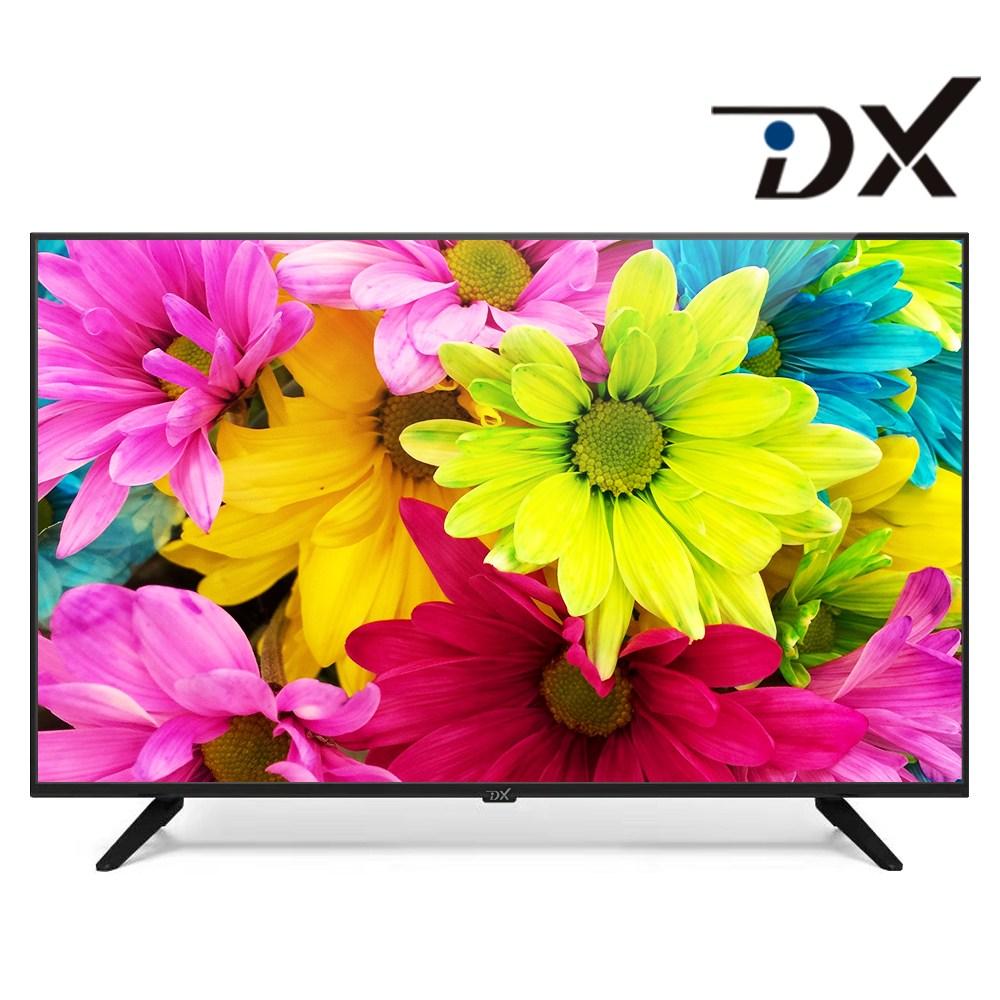 [디엑스] 40인치TV 43인치TV FHD/UHD 고화질 LEDTV 삼성패널, 자가설치, 43인치UHD스탠드