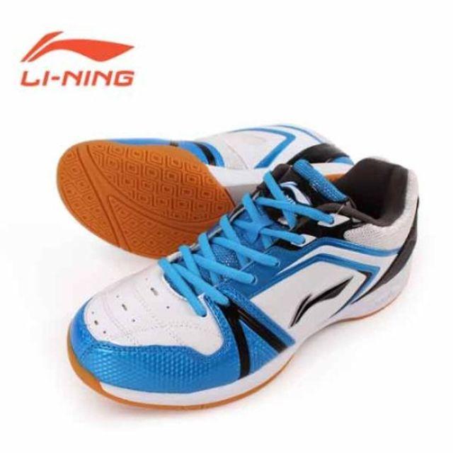 리닝 LIGA 배드민턴 화 운동화 신발 블루 남여공용 탁구화 스쿼시화 인도어화 선수