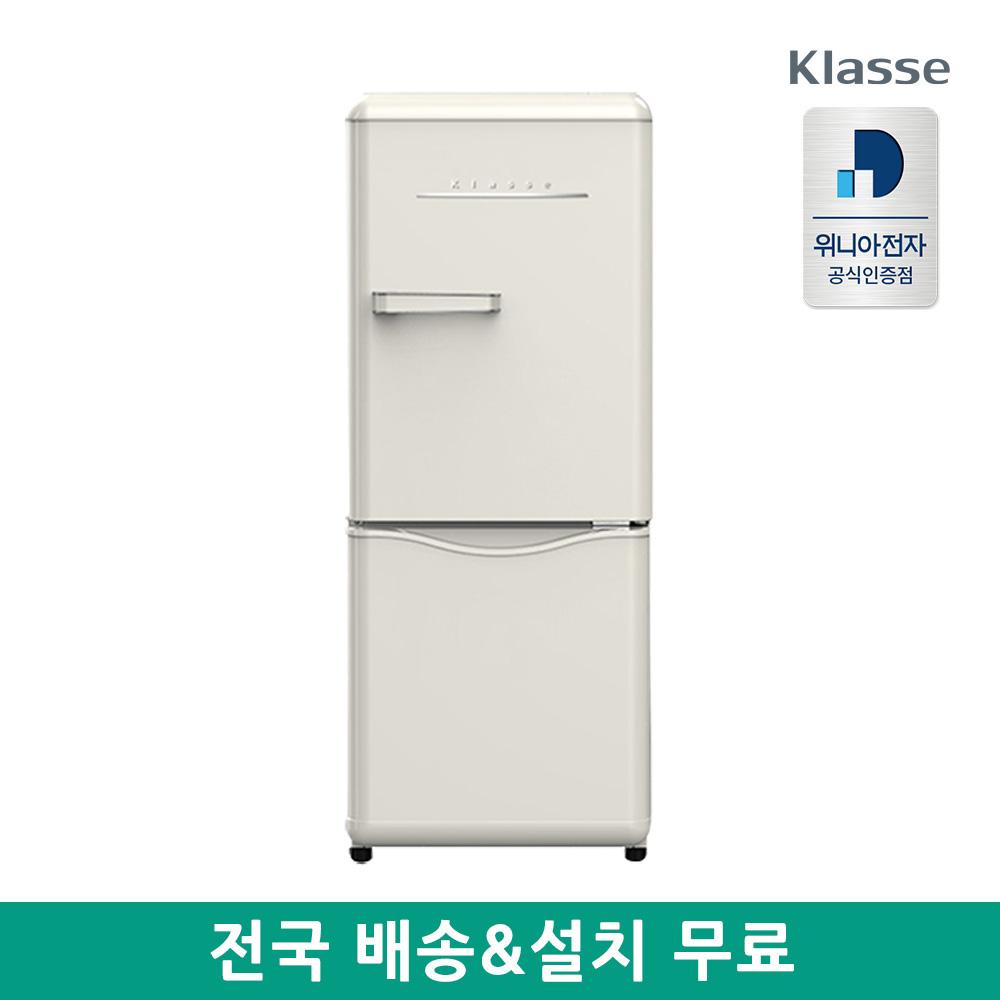 위니아전자 더클래식 레트로 냉장고 150L WKRS154CCE