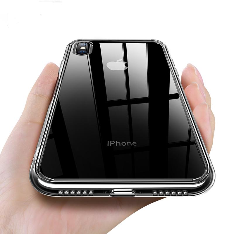 올불리 아이폰 변색없는 투명 케이스 강화유리 변색방지 7 8 플러스 x xs xr xsmax
