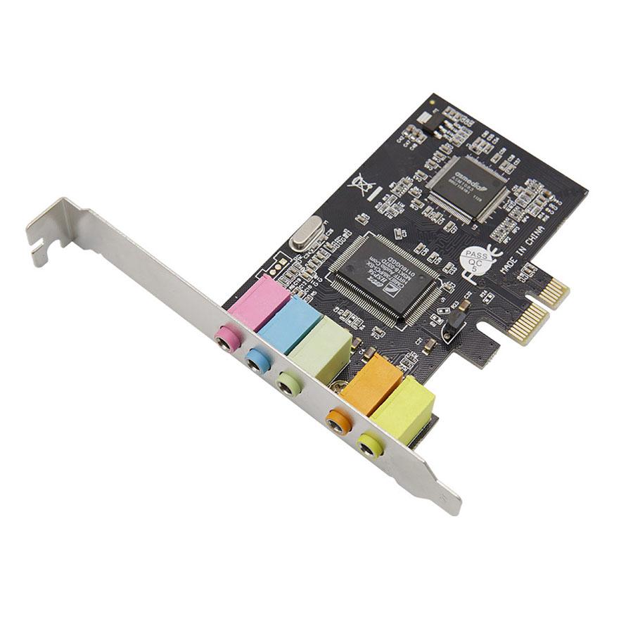 Coms PCIE 사운드 카드 5.1 채널 스테레오 SW692
