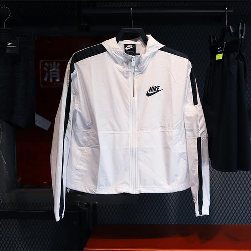 해외 남녀 나이키 바람막이 후드집엎 후드티셔츠 스우시 윈드러너 우븐 자켓 남성 여성 NIke / Nike 2020 여름 새로운 통기성 자외선 차단제 여성용 우븐 후드