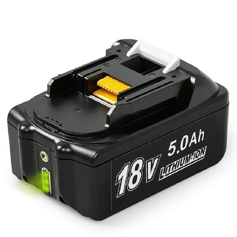 마끼다 호환 충전배터리 18V 4.0 5.0 6.0Ah, 4분류