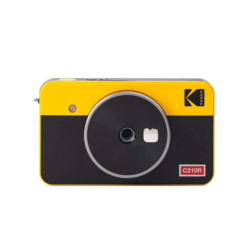 코닥 미니샷 레트로 2 폴라로이드 즉석카메라 C210R, 5세트 + 노란색-8-4359098695