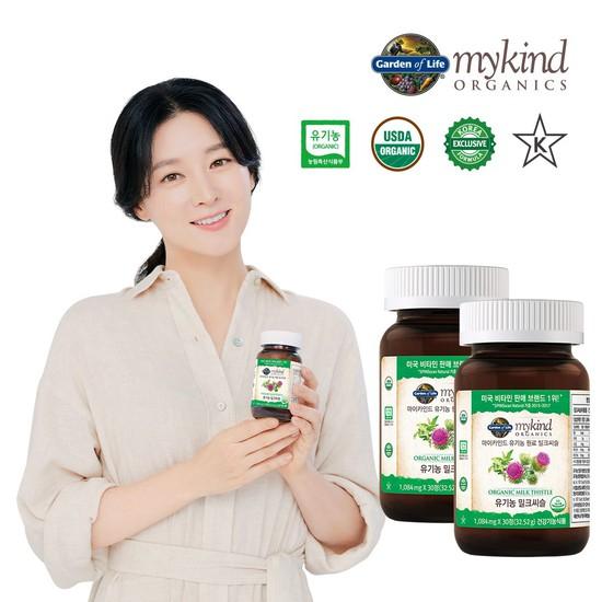 마이카인드 유기농 밀크씨슬 30정 x 2박스, 상세설명 참조, 없음