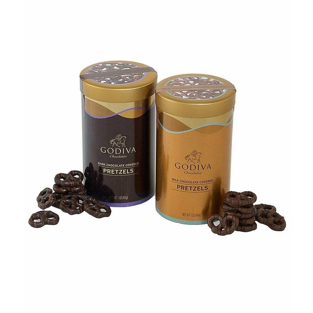 고디바 GODIVA Chocolatier Chocolate Covered Pretzels 초콜릿 프레즐 버라이어티 팩 2개입 2lb(978g), 1개