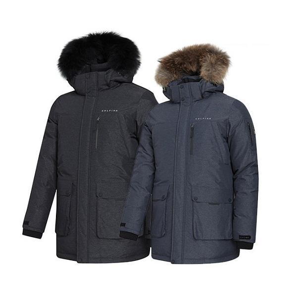 콜핑 남자 겨울 우수한보온성 구스다운 친환경 야상 헤비자켓8509M