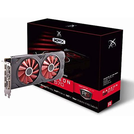 해외550015353 그래픽카드 XFX Radeon RX 570 RS XXX Edition 1286MHz 8gb GDDR5 DX12 VR Ready Dual B, 상세 설명 참조0