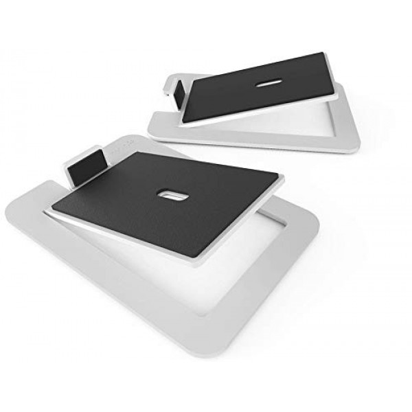 Kanto S6W 데스크탑 스피커 스탠드 대형 스피커 흰색