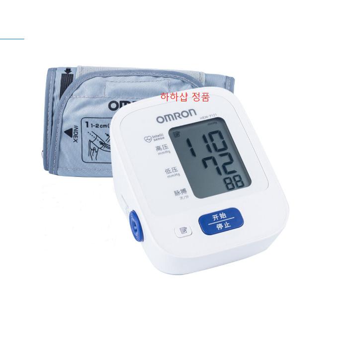 오므론 상완식 자동전자 혈압계 HEM-7121 + AA건전지 4p 정품 환절기 특별할인, HEM-7121 단품