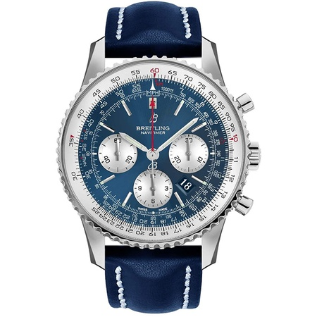 Aurora Blue Breitling Navitimer 1 B01 Chronograph 46 mm Watch AB0127211C1X1 PROD80005059