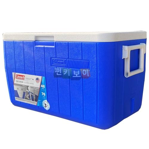 콜맨 아이스박스 48쿼터 블루 3데이 3000000152 (C0152)