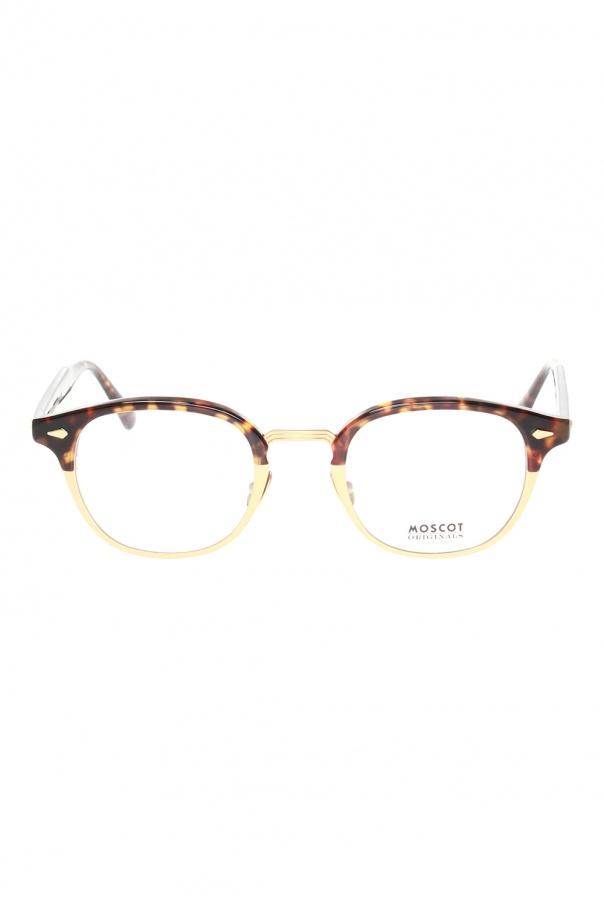 Moscot 'Lemtosh' eyeglasses 로고 LEMTOSH MAC 0-TORTOISE MATTE GOLD 150불 이상 주문시 부가세 별도