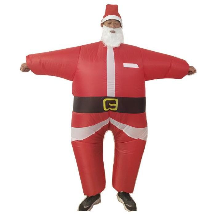 크리스마스 소품 산타 의상 에어수트 크리스마스 의상 크리스마스 코스프레 옷 코스튬 산타 소품 파티용품