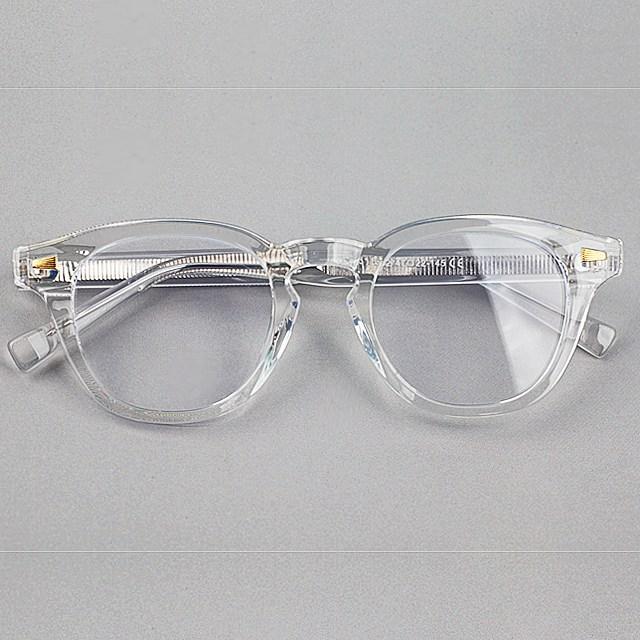 투명안경테 레트로 기본 뿔테 블루라이트 차단 안경 98315