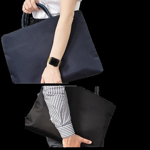 compac 트랜디한 노트북 가방 파우치 남여공용, 노트북가방 네이비