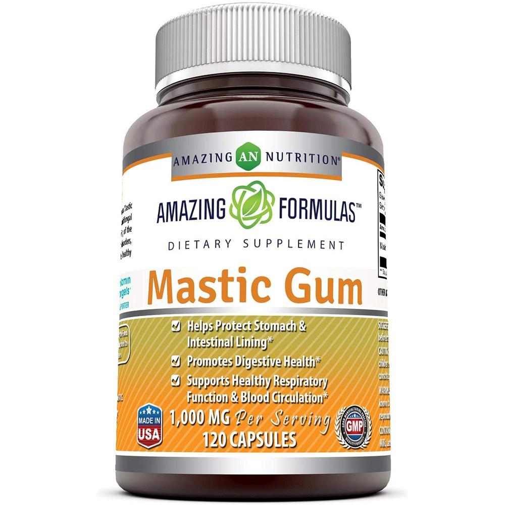 어메이징뉴트리션 매스틱검 Mastic Gum 1000mg 120캡슐, 1통