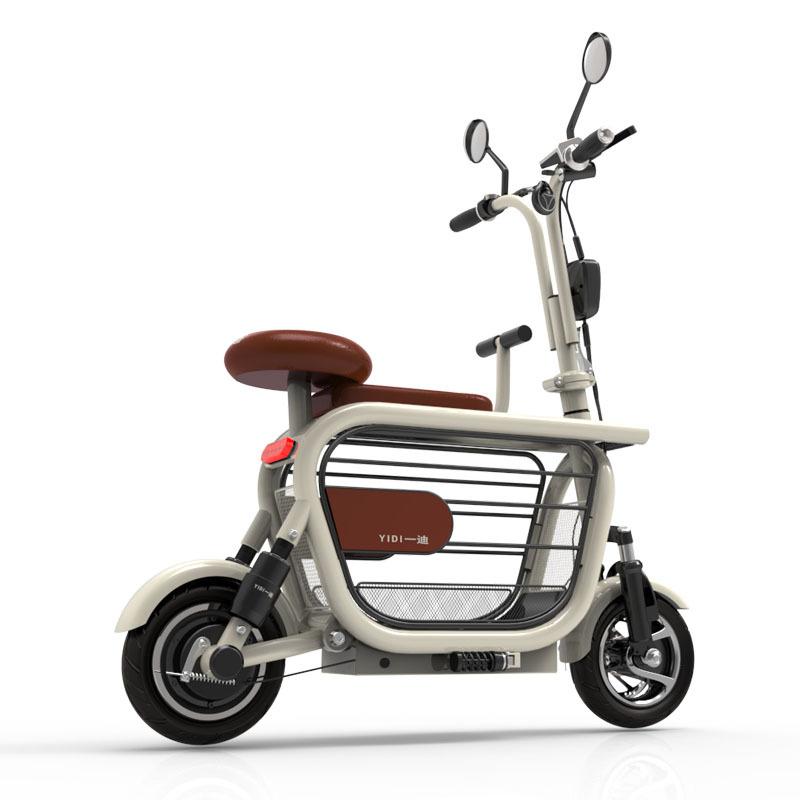 Yidi dudu (관부과세포함) 반려견 동승 전기자전거 전동자전거 댕댕이, 핑크