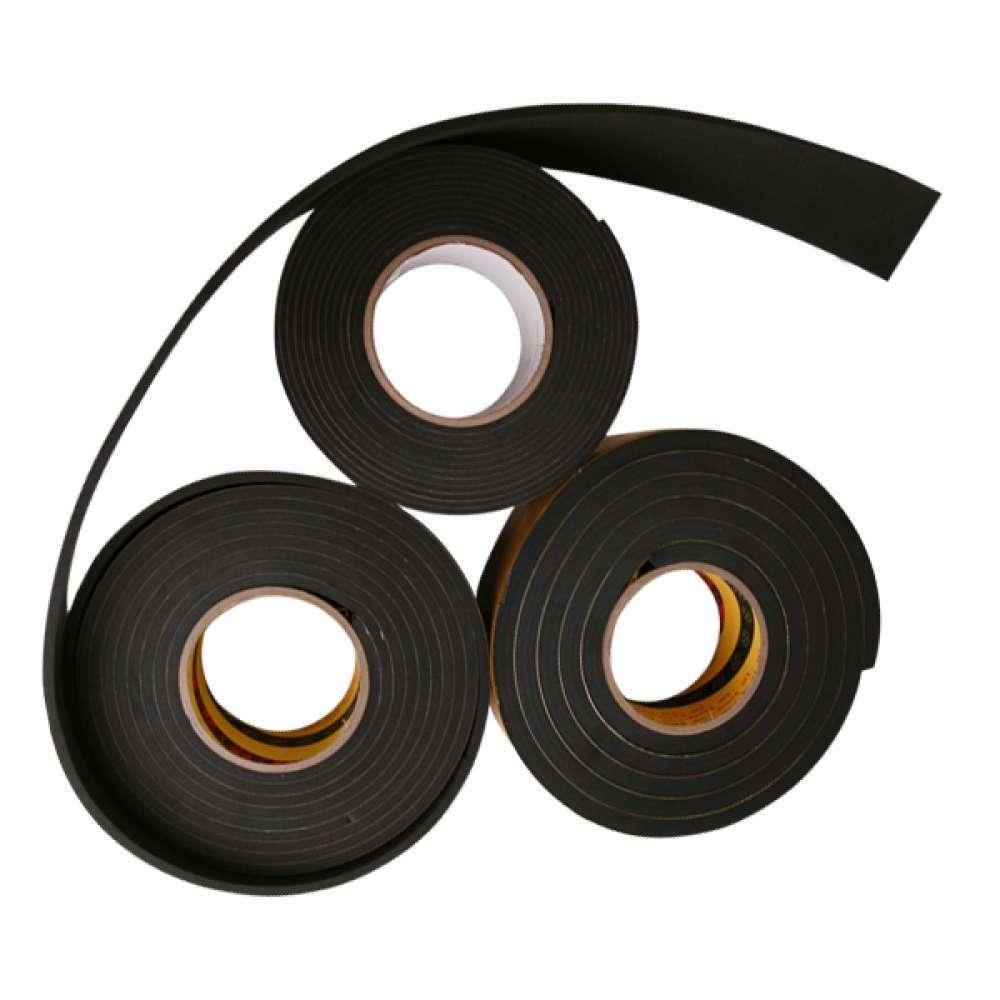 다온다EVA 단면 스폰지 테이프 흑색 폭 50mm 두께선택0 + bnjt웻, NONE, 퀸★두께5mm