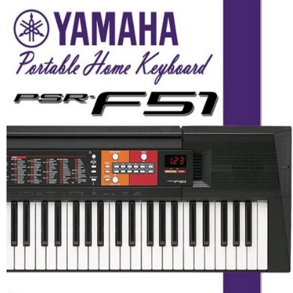 YAMAHA 야마하 정품 PSR-F51 전자 키보드