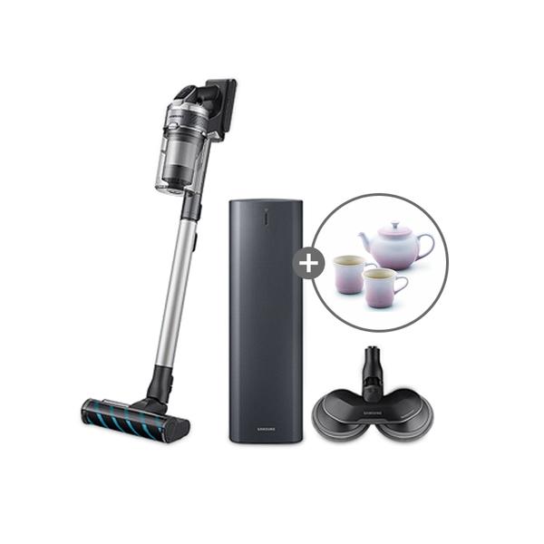 삼성전자 청소기 제트2.0 SE 청정스테이션(메탈그레이) VS20T9213QDCSW+(사은품)르쿠르제 티포트세트, 기타, 단일상품