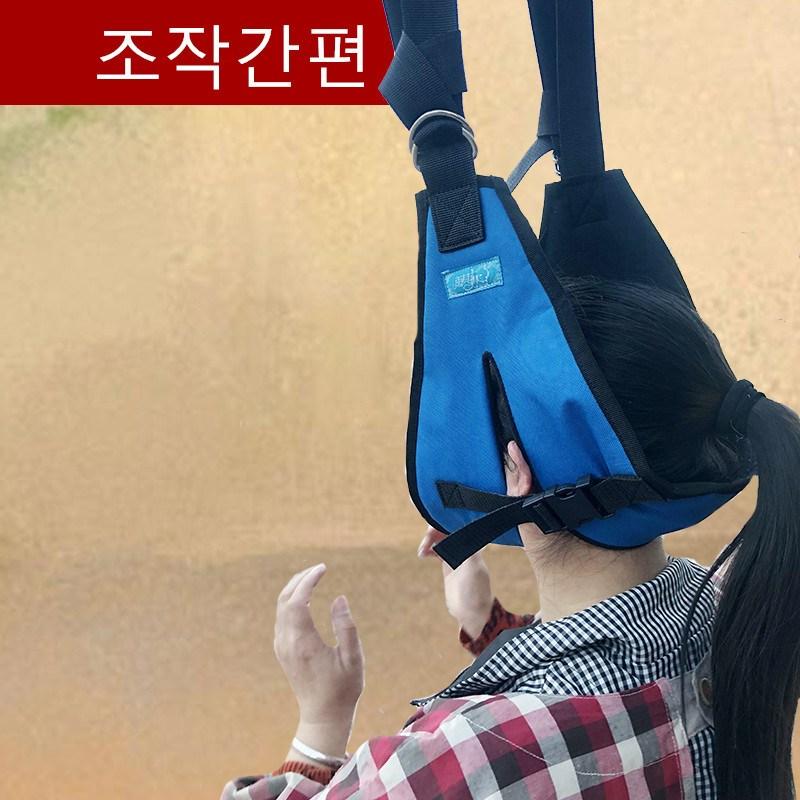 라비로스 목견인기 경추스트레칭 넥해먹 일자목 거북목 교정기구, 1개