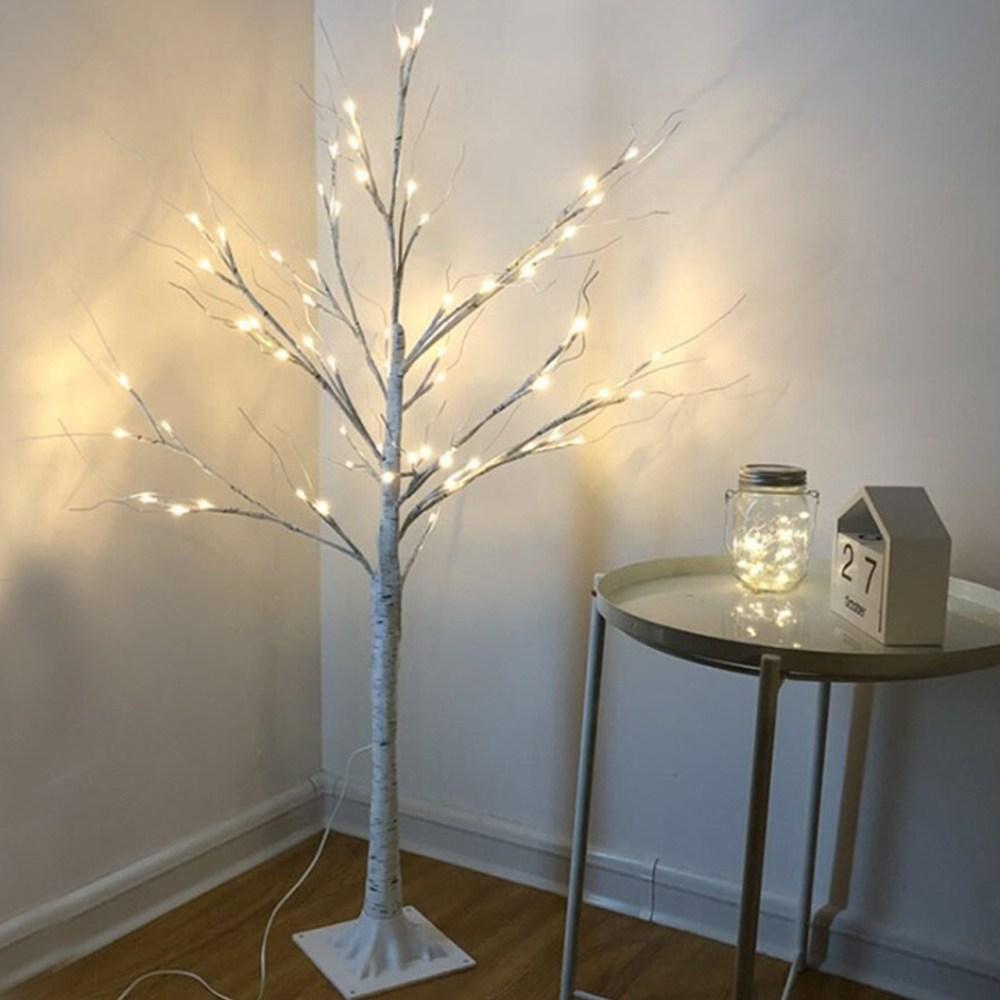 USB 자작나무 LED 무드등(120cm) 간접조명 식탁등