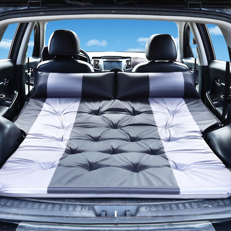 차량용 도킹 트렁크 대형 suv 중형 소형 캠핑카 텐트 펠리세이드 싼타페, 5cm 검은 색 및 회색 업그레이드 /곡선