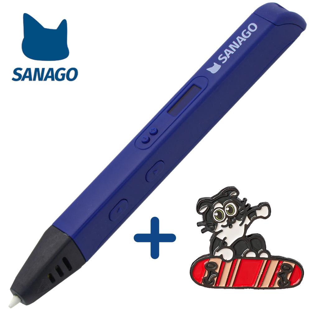 사나고 3D펜 고급형 사나고펜, 사나고3D펜 고급형(네이비)
