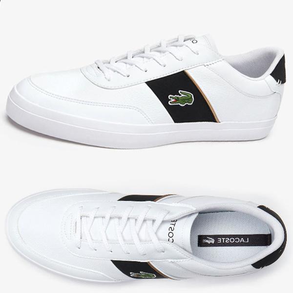 라코스테 신발 남성 코트마스터 319 6 7-38CMA0066147 SM001 단화